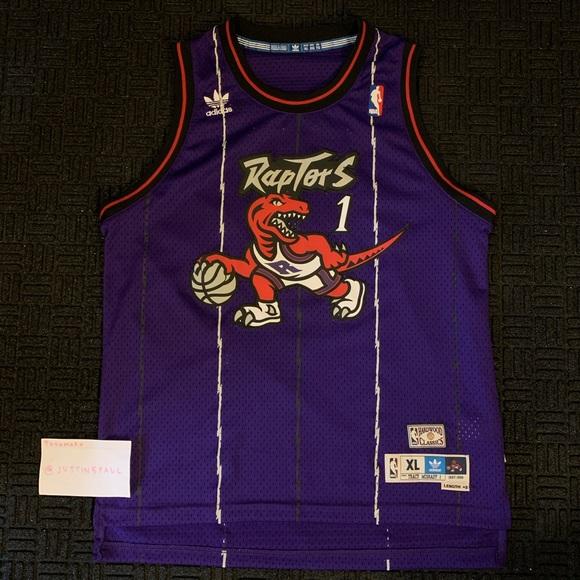 Tracy McGrady Toronto Raptors Jersey Vintage NBA